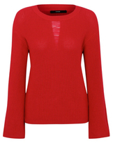 George Ladder Detail Crew Neck Chunky Knit Jumper