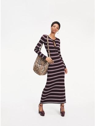 Tommy Hilfiger Zendaya Metallic Knit Maxi Dress