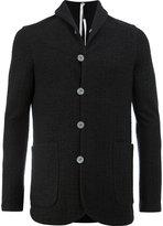 Label Under Construction single breasted jacket - men - Cotton/Alpaca/Virgin Wool - M
