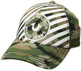 True Religion Striped Camo Baseball Cap