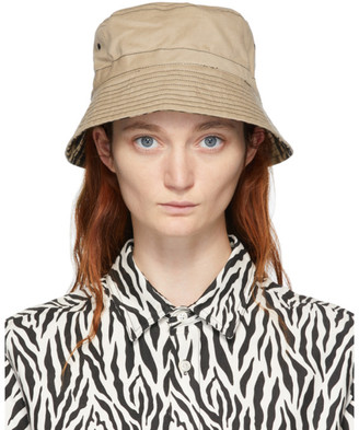 R 13 Reversible Khaki Leopard Bucket Hat
