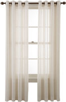 Martha Stewart MarthaWindowTM Candid Stripe Grommet-Top Sheer Panel