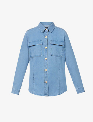 J Brand Relaxed-fit denim shirt