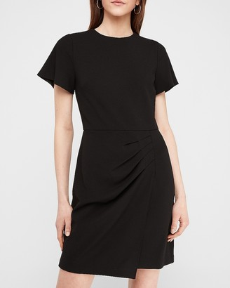 Express Wrap Skirt Sheath Dress