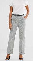 Esprit Wide trousers in crushed