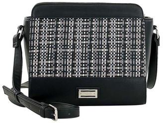 Cellini CSQ235 Holly Zip Top Black Crossbody Bag