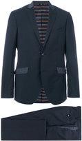 Etro contrast pocket suit jacket