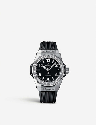 Hublot 465.SX.1170.RX.1204 Big Bang one click steel diamonds watch