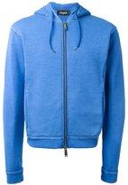 DSQUARED2 rear logo hoodie - men - Cotton - S