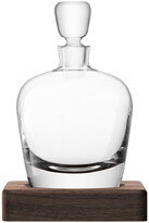 LSA International Whisky Arran Decanter & Walnut Base
