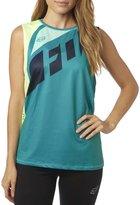 Fox Racing Womens Seca Muscle Tank Shirt Jade
