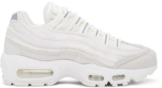 Comme des Garcons White Nike Edition Air Max 95 Sneakers