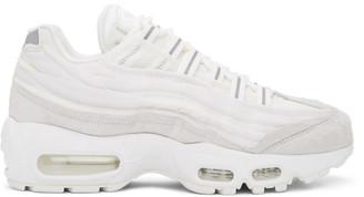 Comme des Garçons Homme Plus White Nike Edition Air Max 95 Sneakers