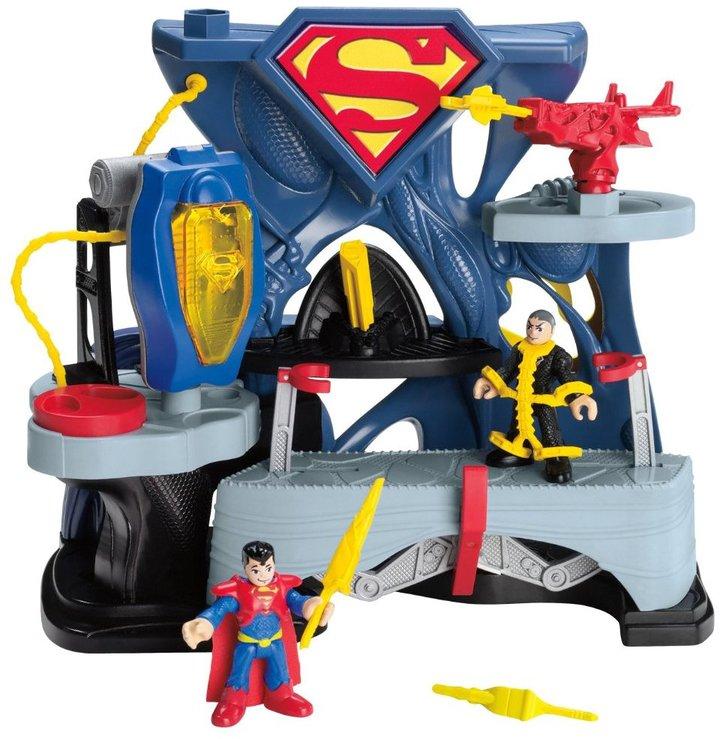 Fisher-Price Hero World Super Friends Superman Playset