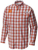 Columbia Men's Clemson Tigers Super Tamiami Long Sleeve Shirt