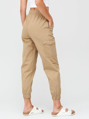 Very Cargo Pocket Jogger Trouser - Camel