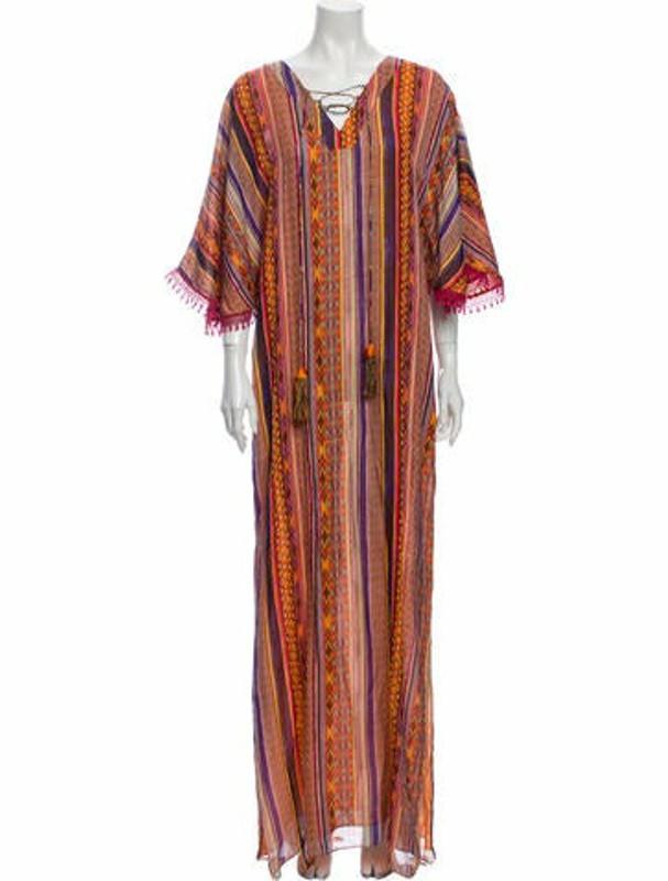 Matthew Williamson Silk Long Dress