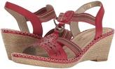 Rieker D6751 Ursula 51 Women's Wedge Shoes