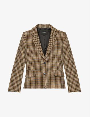 Maje Vland single-breasted wool-blend jacket