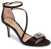 Badgley Mischka Women's Leighton Embellished Strappy Sandal