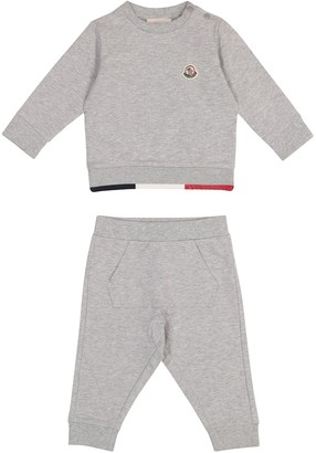 Moncler Enfant Baby stretch-cotton tracksuit