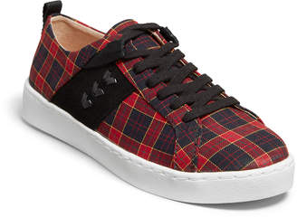 Jack Rogers Ainsley Plaid Lace-Up Low-Top Sneakers