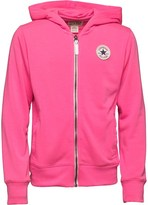 Converse Girls CTP Rib Panelled Hoody Neo Pink