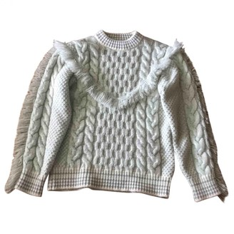 Alanui Grey Cashmere Knitwear