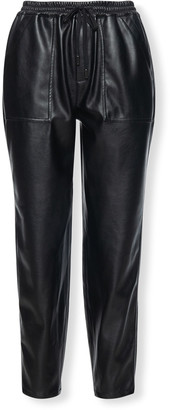 Blank NYC No Guidance Faux-Leather Jogger Pants
