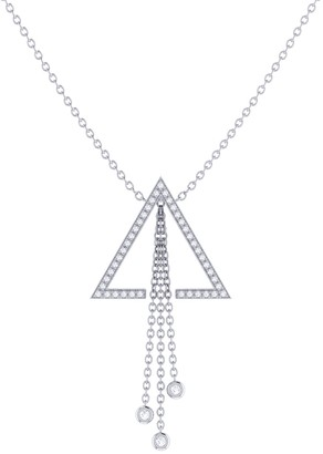 Lmj Skyline Lariat Necklace In Sterling Silver