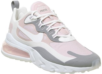 Nike 270 React Trainers Plum Chalk White Mauve Grey F