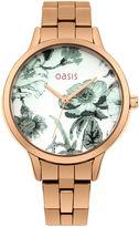 Oasis Floral Bracelet Watch