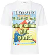 Filles a papa graphic print T-shirt