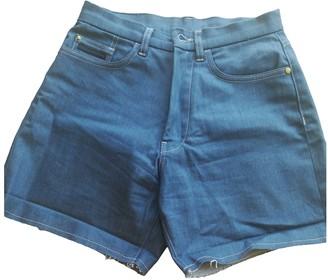 Calvin Klein Blue Synthetic Shorts