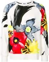 MSGM floral print jumper