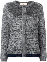 Marni melange cardigan - women - Nylon/Polyester/Viscose/Virgin Wool - 42