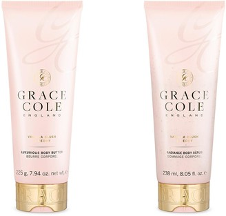 Grace Cole Body Butter and Scrub Duo