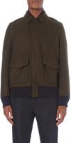 Sacai Stitched wool jacket
