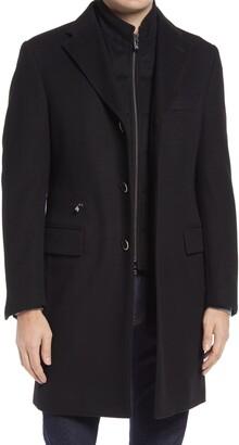 Corneliani Classic Fit Wool Overcoat