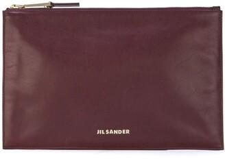 Jil Sander Pre-Owned flat clutch