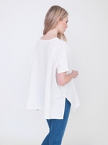 Beaumont Organic Hayley Top in White Organic Pique Cotton