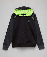 Champion Slate Gray & Lime Pullover Hoodie - Boys