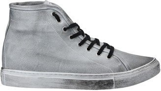 Grey Daniele Alessandrini High-tops & sneakers