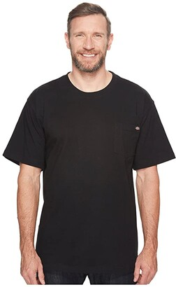 Dickies Heavyweight Crew Neck Tee (Black) Men's T Shirt