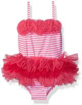 Little Me Baby Girls' Tutu Swimsuit UPF 50+