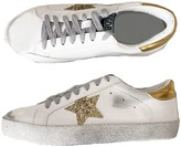 Goodnight Macaroon 'Vanessa' Sequinned Star distressed Sneakers (6 Colors)