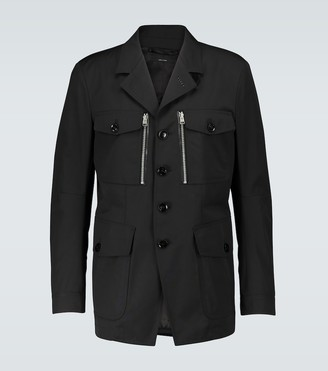 Tom Ford Technical canvas jacket