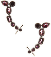Stephen Dweck Rhodolite Garnet Climber Earrings