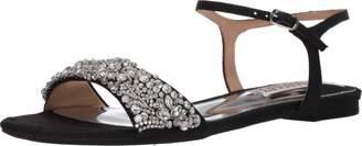 Badgley Mischka Women's Carmella Flat Sandal