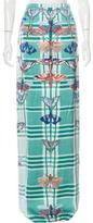 Temperley London Abstract Print Maxi Skirt
